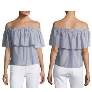 Off the Shoulder Waverley Grey Shirt.